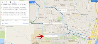 Map A Route Google by How To Plan An Urban Hike With Google Maps Jessbfit Llc