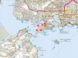 Plymouth England Map by Royal William Yard U0026 Devil U0027s Point Print Walk South West Coast