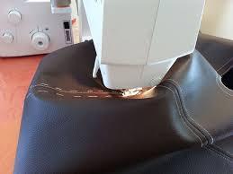 recoudre canapé cuir machine a coudre cuir epais l atelier couture