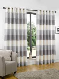Rugby Stripe Curtains by Curtains Horizontal Striped Curtains Grey Horizontal Striped