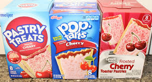 Glutino Toaster Pastry Cherry Meijer Pop Tarts U0026 Great Value Frosted Toaster Pastries
