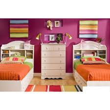 south shore spark collection twin bookcase headboard walmart bed