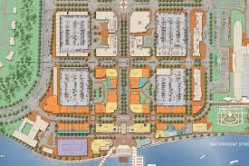national harbor map national harbor phase i inplace design