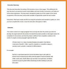 exec summary example sample executive summary for a marketing