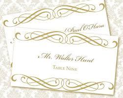 printable name cards for wedding doc word name card template word
