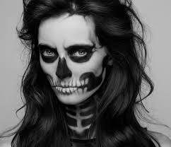 skeleton face for halloween revamped vintage diy halloween skeleton costume