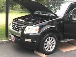 Ford Explorer Exhaust - 2008 ford explorer sport trac no exhaust youtube