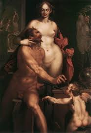 venus and vulcan with cupid 1610 bartholomaeus spranger