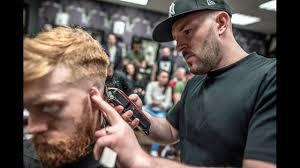alan beak at slicks barbers glasgow youtube