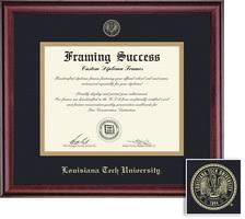 tech diploma frame diploma frames louisiana tech bookstore