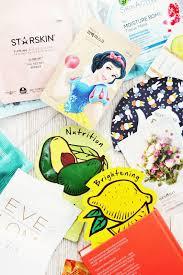 101 sheet mask guide best brands diy masks and disney face