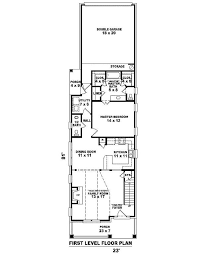 narrow house plans with garage narrow house floor plans apartments narrow house floor plans