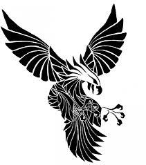 nice tribal eagle tattoo stencil for boys picsmine