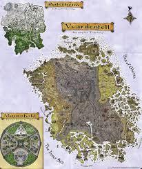 Suikoden World Map by The Backlog Elder Scrolls Iii Morrowind Holy