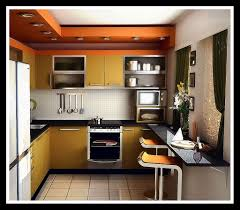 kitchen astonishing orange tile and black countertop interesting