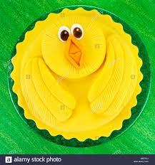 Easter Chicks Cake Decorations by Easter Cake Stock Photo Royalty Free Image 13652945 Alamy