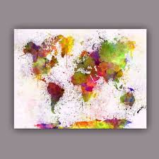 World Map Prints by Online Get Cheap Large World Maps Aliexpress Com Alibaba Group