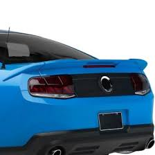 2014 mustang rear 2014 ford mustang spoilers custom factory lip wing spoilers