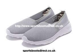Neo Slip On by Nicest Adidas Neo Cloudfoam Lite Racer Slip On Womens Shoes Grey