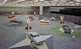 Cobo Hall Floor Plan Detroit Auto Show 1964 Oldsmobile Display Cobo Hall Detroit