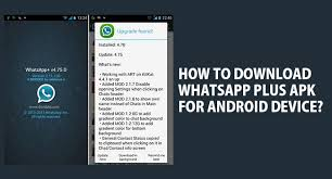 whatsapp plus apk whatsapp plus apk v6 10 free for android device