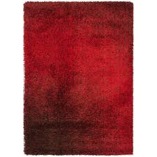 alexander home stella red brown shag rug 603 liked on
