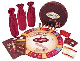 amazon com zinzig wine tasting and trivia board game by true