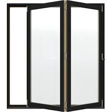 Jeld Wen Room Divider Jeld Wen 72 In X 80 In W 4500 Black Clad Wood Left