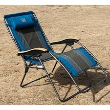 timber ridge oversized xl padded zero gravity chair blue our