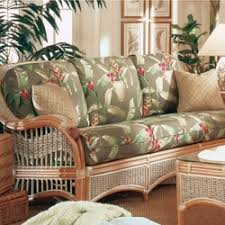 Rattan Settee Sleeper Sofas Indoor Wicker Sofas Loveseats
