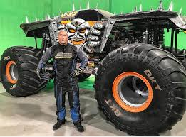 how to become a monster truck driver for monster jam the rock shares a photo of his monster truck