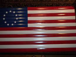 Reverse Color American Flag How To Make An American Flag 7 Steps