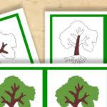 montessori tree printable free montessori printable parts of a leaf trillium montessori
