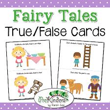 fairy tales theme prekinders