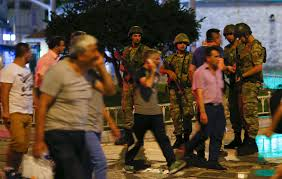It Is Being Reported That Turkish Military Forces Have by Turkey Coup Military Claims Takeover Jets Seen Flying In Turkish