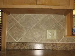 kitchen backsplash ceramic tile simple 4x4 ceramic tile kitchen backsplash on diagonal