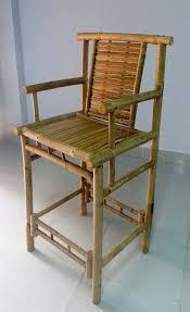 amazon com set of 2 pieces bamboo tahiti bar stool with back