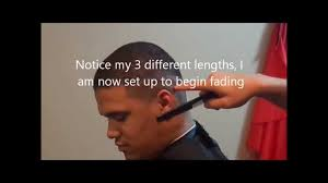 how to do a fade haircut on yourself shadow fade haircut step by step adthebarber com youtube