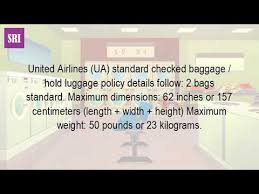 united airlines international baggage fee what is the baggage weight limit for united international flights