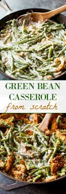 green bean casserole from scratch recipe easy
