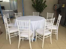 rent table and chairs rent tables chairs by singapore tentage all events logistics