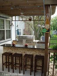 excellent outdoor patio bar ideas for your modern home interior