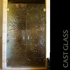 cast glass shower doors buckeye shower doors