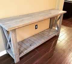 Low Console Table Whether A Low Console Table Or Not Make It Cool And Welcoming