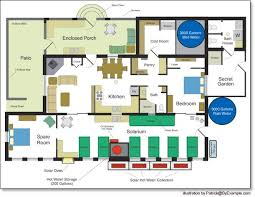 environmentally house plans clever eco house floor plans 11 homes nikura