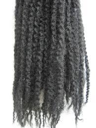 grey marley braiding hair yaman afro kinky twist braids 18 longth 100 kanekalon fiber