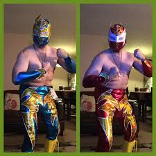 wwe halloween costumes for kids sin cara costumes blue and red youtube