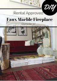 100 faux marble fireplace stenciled faux tile fireplace