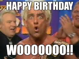 Ric Flair Memes - ric flair royal rumble 1992 happy birthday wooooooo weknowmemes