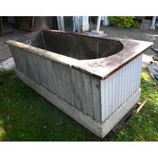 Antique Galvanized Bathtub Ronalds And Company Tin Bathtub
